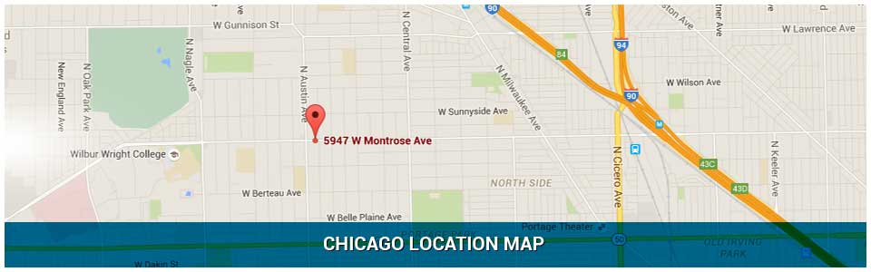 Chicago Location Map Dr. Kevin McCoy Orthodontics